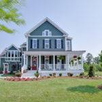 Small Country Style House Plans Wrap Around Porches
