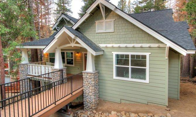 Small Craftsman Cottage Style House Plans