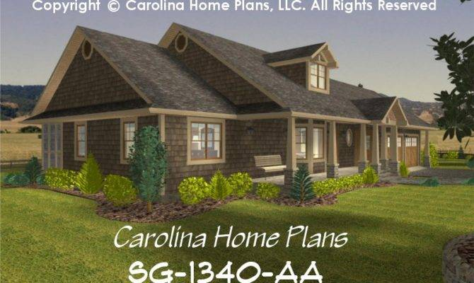 Small Craftsman Style House Plan