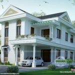 Small Double Floor Dream Home Design Kerala