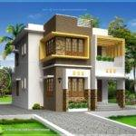 Small Double Storied Contemporary House Design Home Kerala Plans