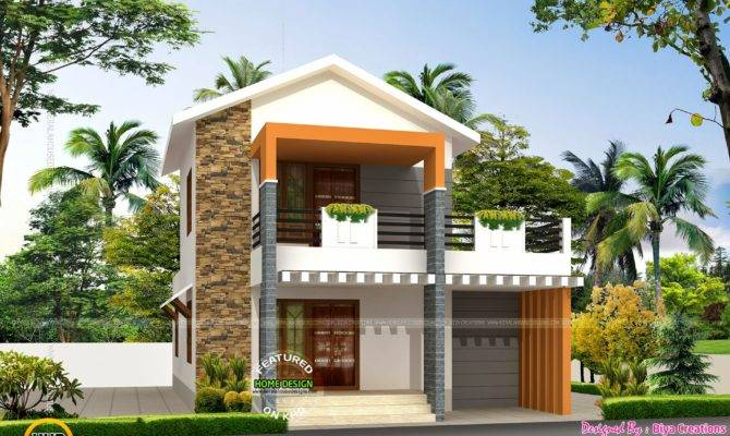 Small Double Storied House Feet Kerala Home