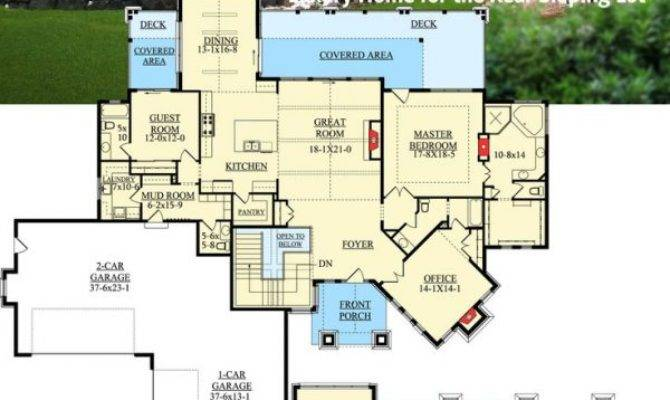 Small Dream Home Plans Floor Wooded Lots House