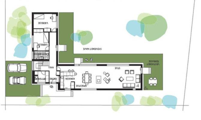 Small Eco House Floor Plans Design