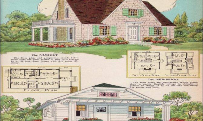 Small English Cottage House Plans Stone