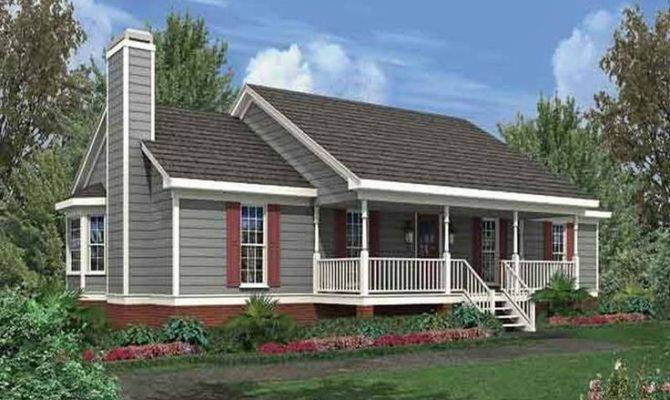 Small Farm House Plans Garden Home Ideas Pinterest