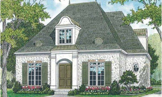 Small French Country Cottage House Plans Design