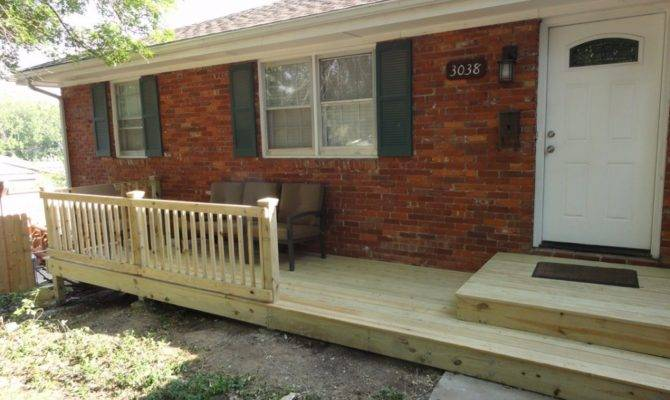 Small Front Porch Deck Ideas House Plans 152445