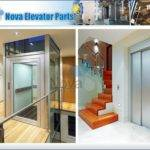 Small Home Life Elevators Stainless Steel Lift Villa Elevator
