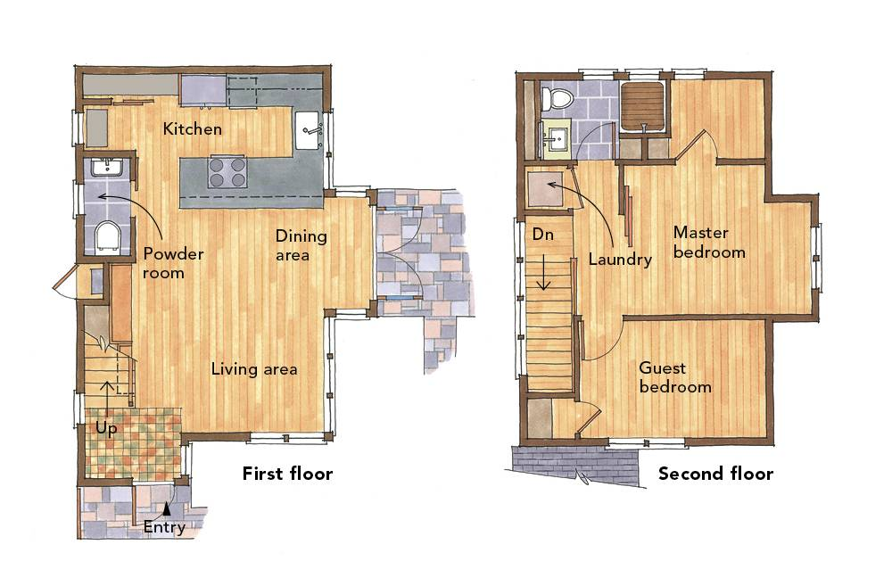 Small Home Plans Admire