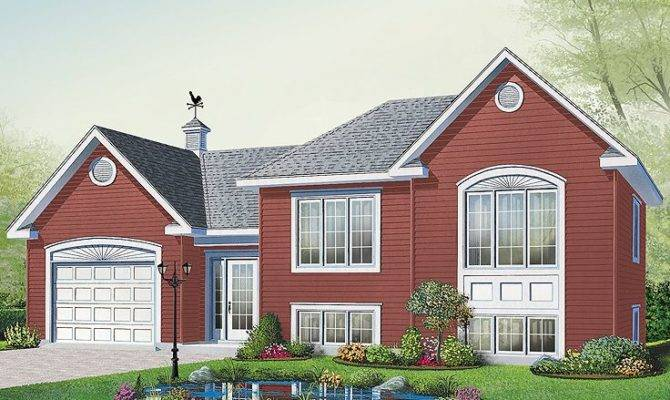 Small Home Plans Affordable Split Level House Plan