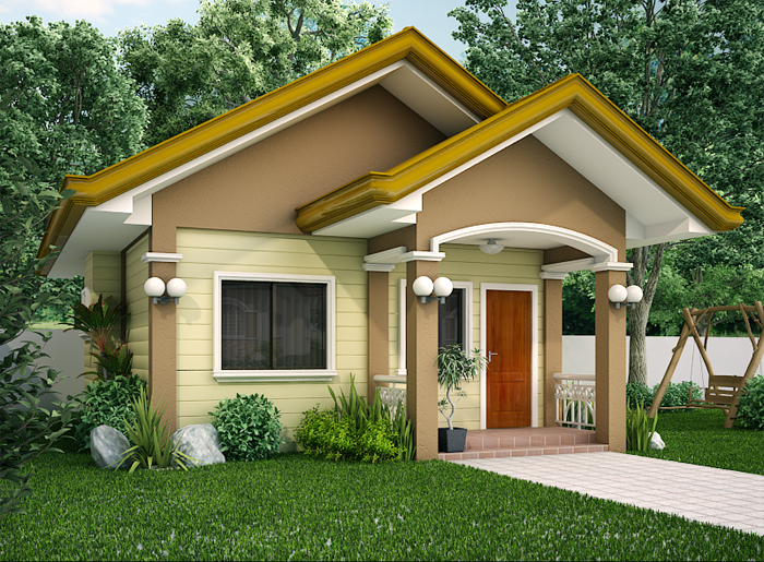 Small Homes Front Designs Entrance Ideas Home Design House Plans