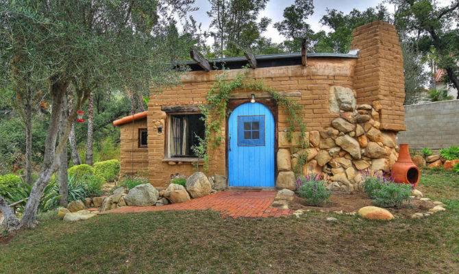 Small House Adobe Brick