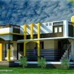 Small House Design Contemporary Style Kerala Home
