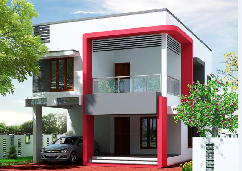 Small House Exterior Design India Joy Studio Plans 88680