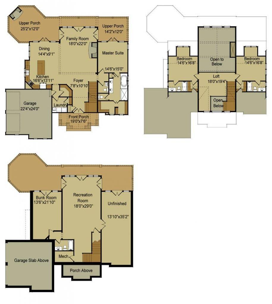 Small House Floor Plans Bat Best