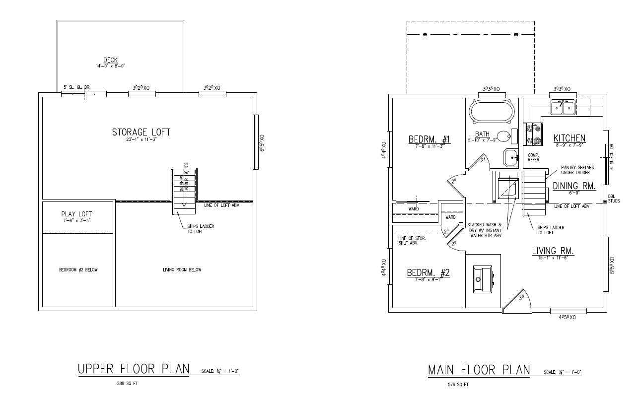 Small House Floor Plans Loft House Plans 52773