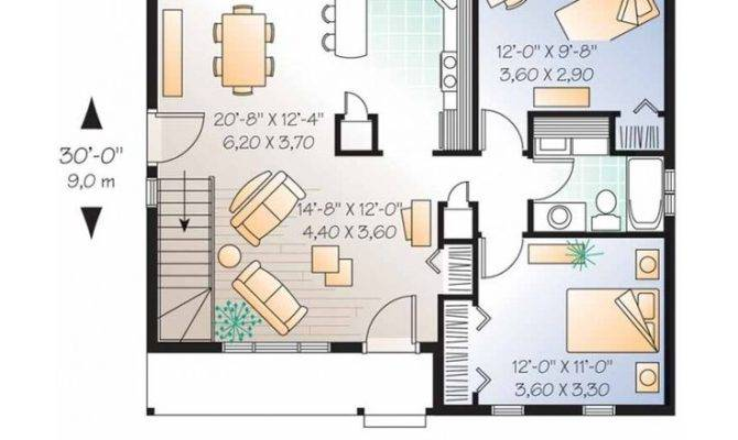 Small House Get Plans Two Bedroom Design