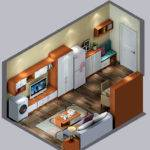 Small House Interior Layout Ideas