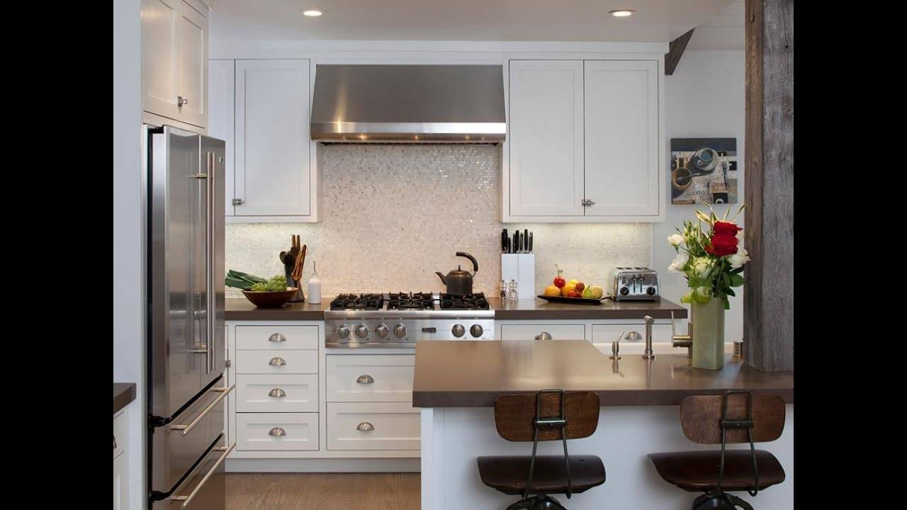 Small House Kitchen Design Youtube   House Plans   9