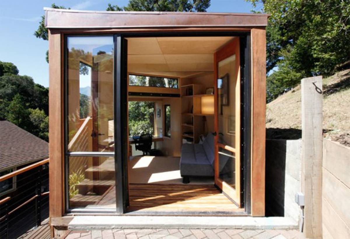 Small House Modern Design Wooden
