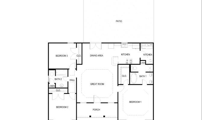 Small House Plan Under Bedroom Bath
