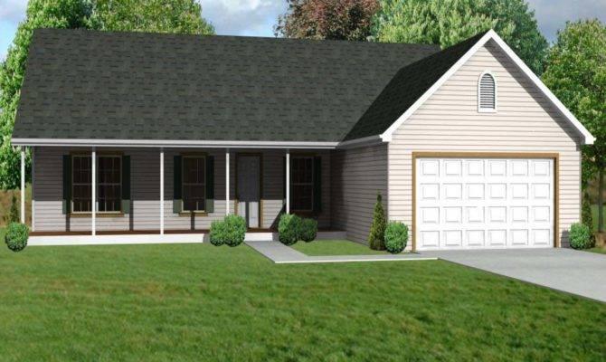 Small House Plans Garage Floor