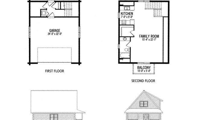 Small House Plans Loft Cabin Plan