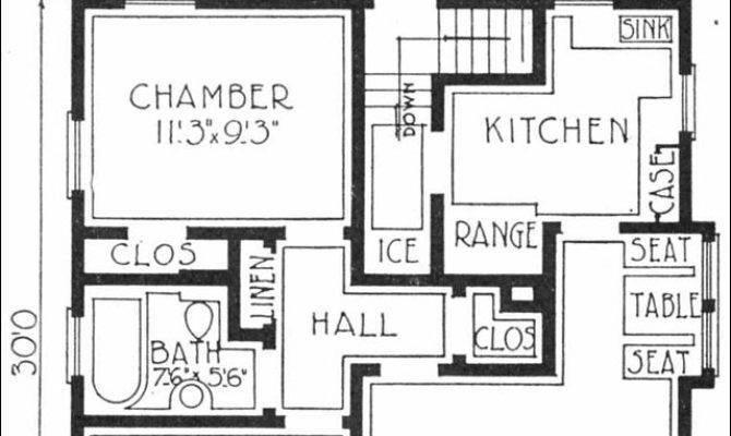 Small House Plans Pinterest Floor Bungalows