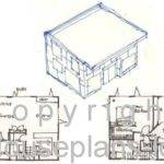 Small House Plans Plan Cottage Floor