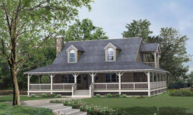 Small House Plans Porch Porches Country