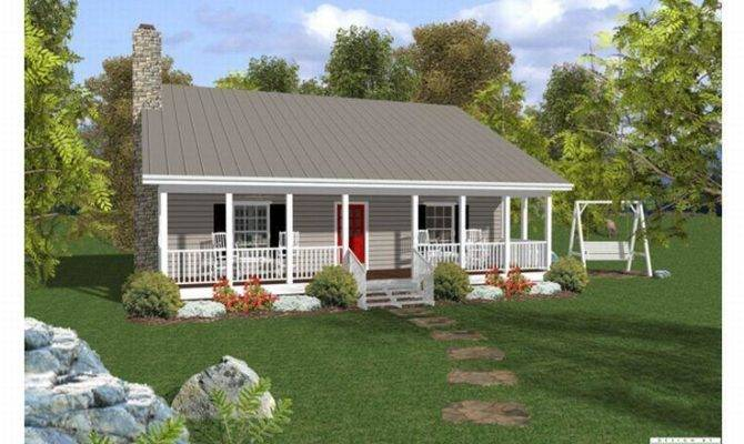 Small House Plans Porches