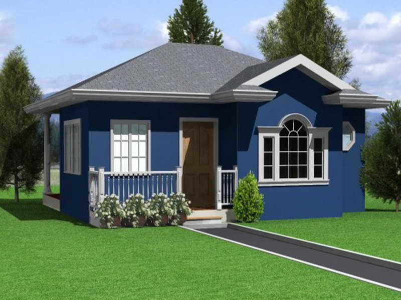 Small Houses Design Has Elevated Bedrooms House Plans 42702