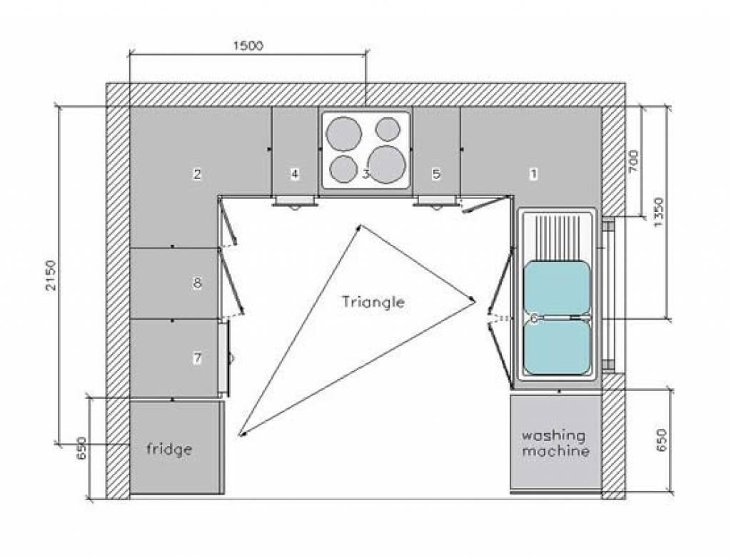 Small Kitchen Design Floor Plans   House Plans   9