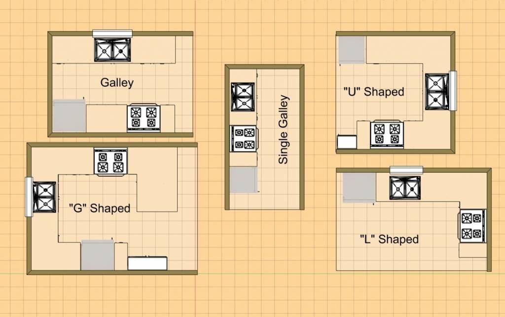 Small Kitchen Floor Plans Illinois House Plans 81715