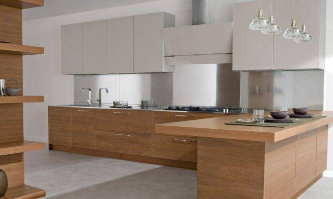 Small Kitchen Wood Design Cabinet