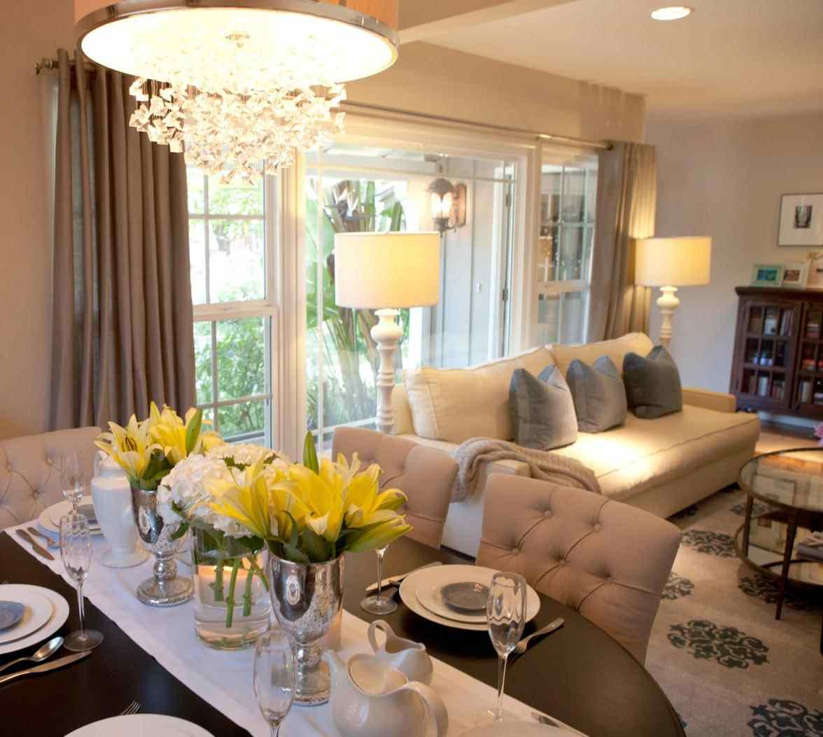 Small Living Room Dining Combo Layout Ideas House Plans 149898
