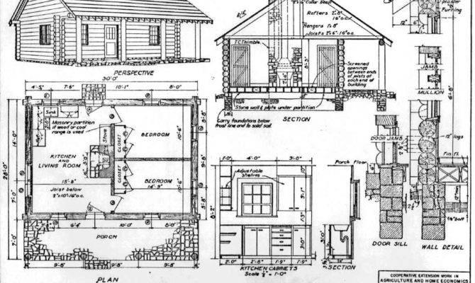 Small Log Cabin Blueprints Fantastic Danutabois