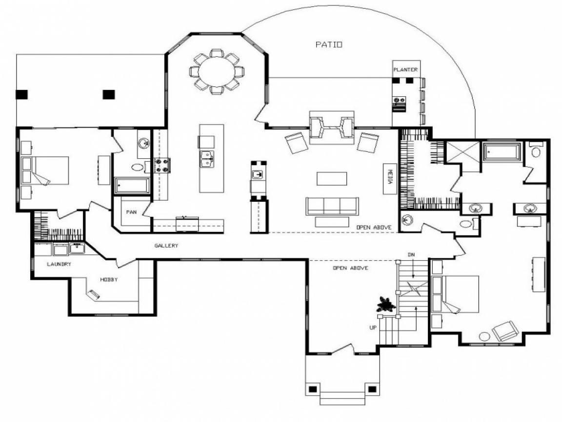 Log Cabin Homes Floor Plans Home Loft