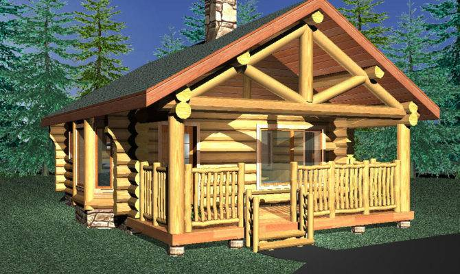 Small Log Cabins Cabin Floorplans Builders Slokana