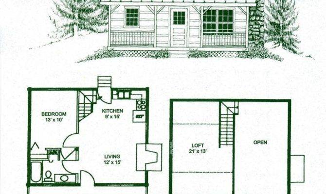 Small Log Cabins Floor Plans Best