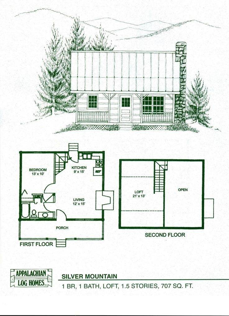 Small Log Cabins Floor Plans Best House Plans 125861