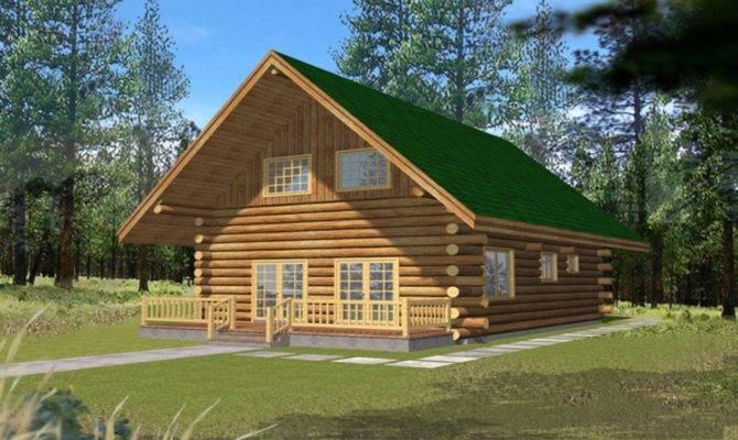 Small Log Cabins Lofts Bedroom Cabin Homes Kits