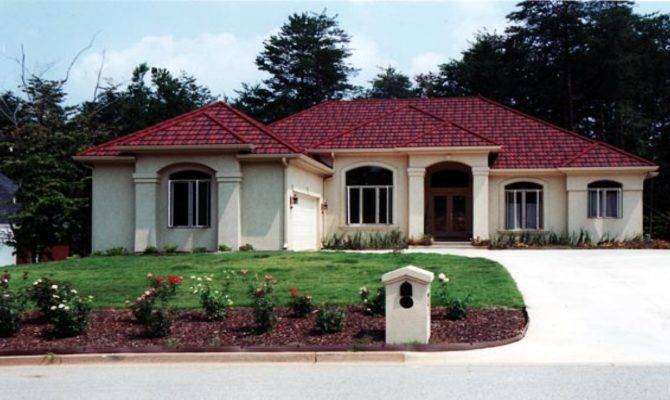 Small Mediterranean Style Homes