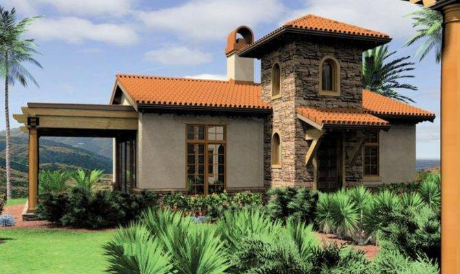 Small Mediterranean Style House Plans