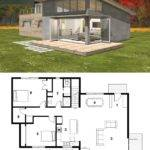 Small Modern Cabin House Plan Freegreen Energy