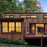 Small Modern Cabin House Plan Prefab Cabins