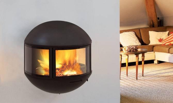 Small Modern Gas Fireplace Design Ideas