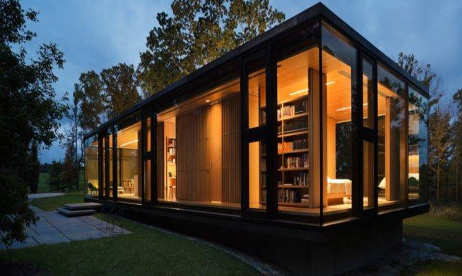 Small Modern Guest House Plans