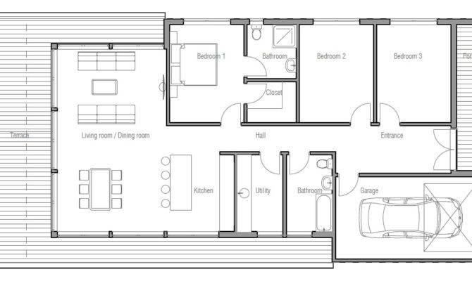Small Modern House Plans Loft Tiny